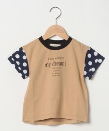 Sot Fairy/ドット袖Tシャツ/503177445