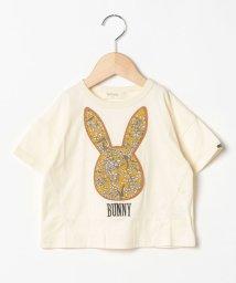 Sot Fairy/うさぎアップリケTシャツ/503177447