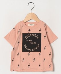 Sot Fairy/イナズマロゴプリントTシャツ/503177451