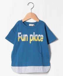Sot Fairy/ロゴ重ね着風Tシャツ/503177453