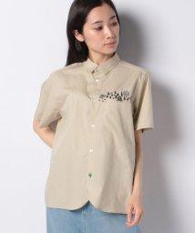 FRAPBOIS/レギュラーカラー刺繍シャツ/503181024