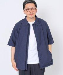 coen/半袖コーチシャツジャケット/503183881