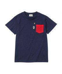 MAC HOUSE(kid's)/PEANUTS ボーイズ ポケット付きTシャツ 361157303/503186077