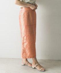 URBAN RESEARCH/CASA FLINE シルクIラインスカート/503188115