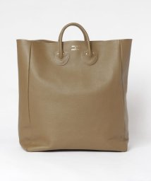 URBAN RESEARCH/YOUNG&OLSEN EMBOSSED LEATHER TOTE L/503188241