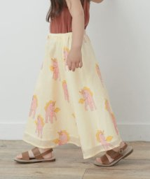 URBAN RESEARCH DOORS(Kids)/mini rodini Unicorns woven long skirt/503188614