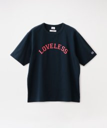 LOVELESS MENS/【Safari5月号掲載】【Champion exclusive for LOVELESS】MEN 別注 カレッジロゴTシャツ/503188735
