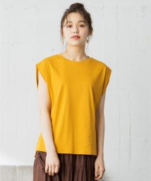 any SiS L/【Ray6月号掲載】Rich cottonスムース フレンチスリーブ Tシャツ/503188794