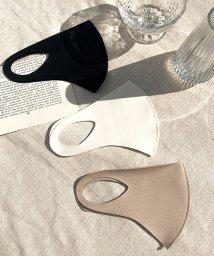 chuu/CHUU(チュー)素材が選べる立体マスク/503153572