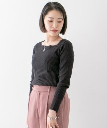 URBAN RESEARCH OUTLET/【WAREHOUSE】スクエアネックニット41F/503174283