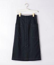 EMMEL REFINES/〔ハンドウォッシャブル〕FC HW TC/LI サイドポケット スカート/503174896