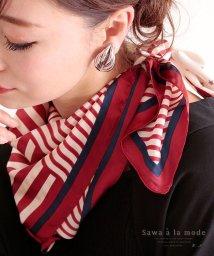 Sawa a la mode/星とストライプのスクエアスカーフ/503183712