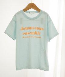 ROPE' PICNIC KIDS/【ROPE' PICNIC KIDS】メッセージTシャツ/503185253