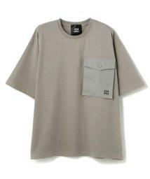 LHP/404error/フォーオーフォーエラー/ビッグポケット半袖ロゴTシャツ/503188873