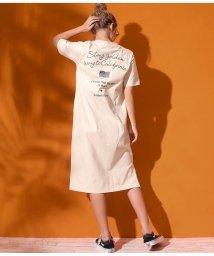 anap mimpi/USAコットン刺繍マキシワンピース/503188889