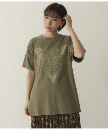 Factor=/ロゴサイドスリットTシャツ/503188892
