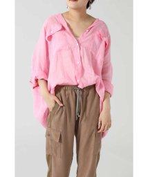 ROSE BUD/ラミーリネンビッグシャツ/503189088