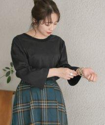 ITEMS URBANRESEARCH/バックオープンルーズTシャツ/503189291