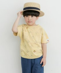 URBAN RESEARCH DOORS(Kids)/【別注】mammoth×DOORS 総柄ワイドポケTシャツ(KIDS)/503189474
