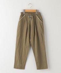 SHIPS KIDS/SHIPS KIDS:2タック 綿麻 テーパード パンツ(140~150cm)/503189863