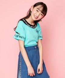 JENNI love/袖カットレイヤード風Tシャツ/503189898