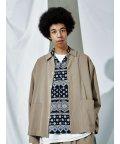 ABAHOUSE/【MYSELF ABAHOUSE】オープンカラー シャツ ジャケット/503190115