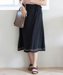 J.PRESS LADIES/【洗える】PANEL DOTS スカート/503191117