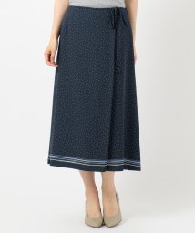 J.PRESS LADIES(LARGE SIZE)/【洗える】PANEL DOTS スカート/503191118