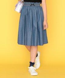 KUMIKYOKU KIDS/【150-170cm】ダンガリースカート/503191120