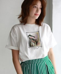 REAL CUBE/フォトプリントTシャツ/503175195