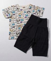 petit main/BOYS総柄Tシャツ×パンツパジャマセット/503179708