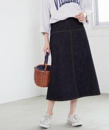 coca/センターラインデニムスカート/503190964