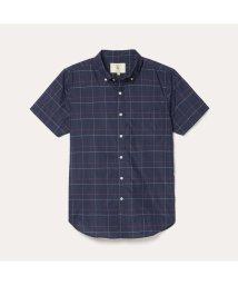AIGLE MEN/DFT ダークチェックシャツ/503191223