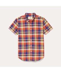 AIGLE MEN/DFT カラーチェックシャツ/503191225