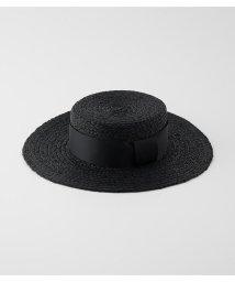 rienda/リボンストローハット/503191665
