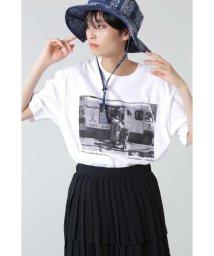 ROSE BUD/フォトプリントTシャツ/503191743