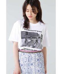 ROSE BUD/フォトプリントTシャツ/503191745