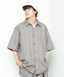 WEGO/WEGO/【セットアップ対応商品】TRクラシックチェック5分袖シャツ/502930632