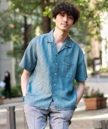 MACKINTOSH PHILOSOPHY/【WEB限定】リネンオープンカラーシャツ/503005906