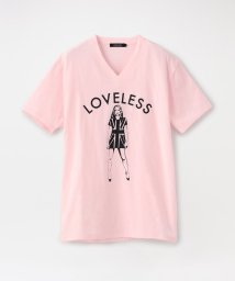 LOVELESS MENS/ユニオンジャックガール VネックT/503167459