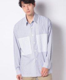 Ciaopanic/【Ciaopanicメンズ】ビックポケットストライプシャツ/503177749