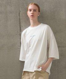 FRAPBOIS/ロゴ×スタッズTシャツ/503181031