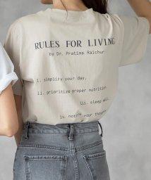MODE ROBE/バックロゴTシャツ/503187242