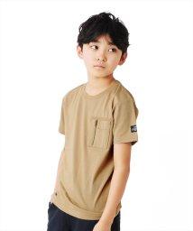 GLAZOS/天竺・ミリタリーポケット半袖Tシャツ/503187871