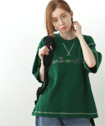 DOUBLE NAME/しりとり刺繍TEE/503192673
