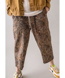 monkey time/<monkey time> C/R  PAISLEY WIDE ANKLE EASY/アンクルイージーパンツ/503192756