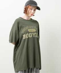 DOUBLE NAME/クラシックプリントロゴBIG TEE/503192838