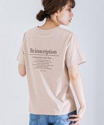 URBAN RESEARCH Sonny Label/ニュアンスカラーバックプリントTシャツ/503193111