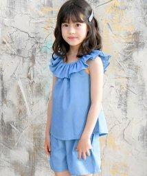 子供服Bee/デニム風セットアップ/503193373