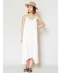 CAYHANE/【チャイハネ】yul ビーズ刺繍ロングキャミワンピース IDS-0409/503146288